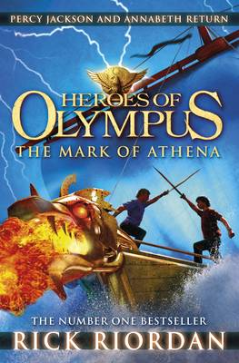 Heroes of Olympus: The Mark of Athena by Rick Riordan
