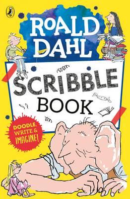 Roald Dahl Scribble Book by