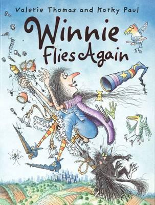 Winnie Flies Again by Valerie Thomas