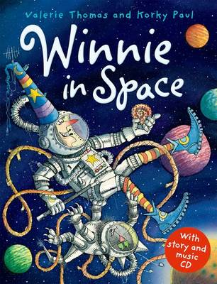 Winnie in Space Paperback and CD by Valerie Thomas