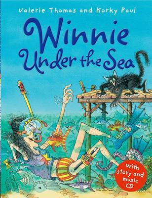 Winnie Under the Sea (Book and CD) by Valerie Thomas