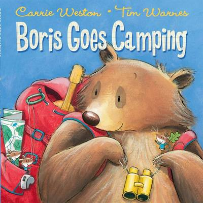 Boris Goes Camping by Carrie Weston