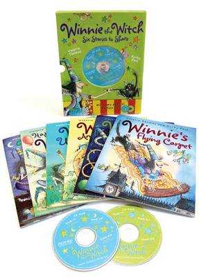 Winnie the Witch 6 Stories to Share & 2 CDs by Valerie Thomas