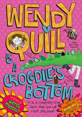 Wendy Quill is a Crocodile's Bottom by Wendy Meddour