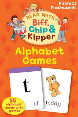 Read with Biff, Chip, and Kipper Flashcards : Alphabet Games by Roderick Hunt, Annemarie Young, Kate Ruttle