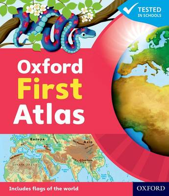 Oxford First Atlas by Patrick Wiegand