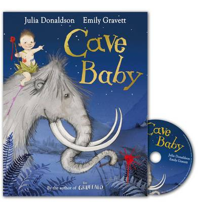Cave Baby Book and CD by Julia Donaldson