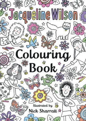 The Jacqueline Wilson Colouring Book by Jacqueline Wilson