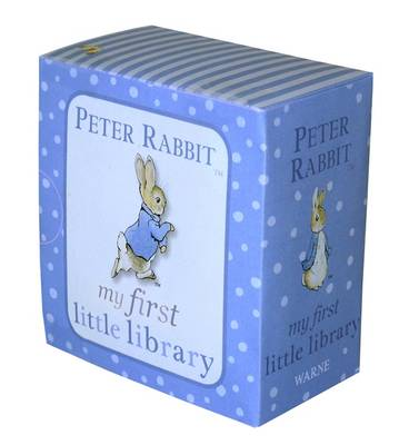 Peter Rabbit My First Little Library by Beatrix Potter