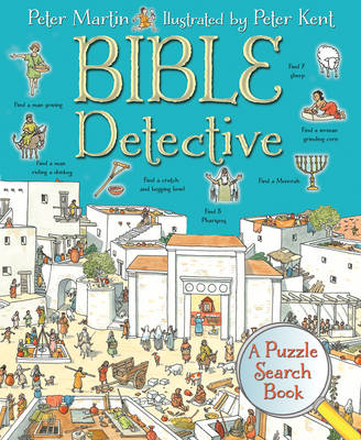 Bible Detective A Puzzle Search Book by Peter Martin