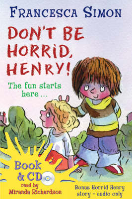 Don't Be Horrid, Henry! (Book and CD) by Francesca Simon