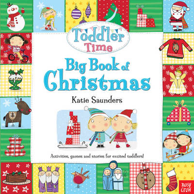 Toddler Time: Big Book of Christmas by Katie Saunders