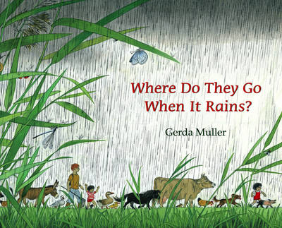 Where Do They Go When it Rains? by Gerda Muller