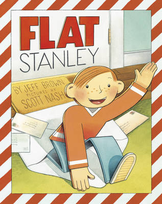 Flat Stanley - Picture Book by Jeff Brown