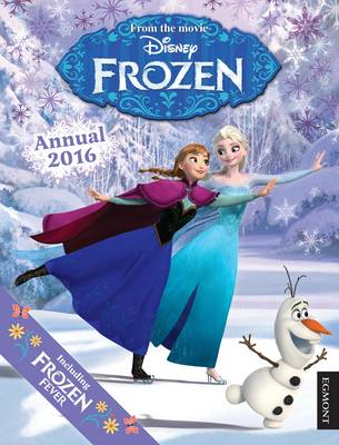 Disney Frozen Annual by Egmont UK Ltd