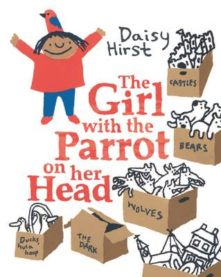 The Girl with the Parrot on Her Head by Daisy Hirst