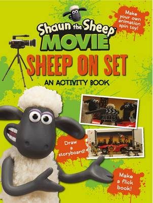 Shaun the Sheep Movie - Sheep on Set Activity Book by