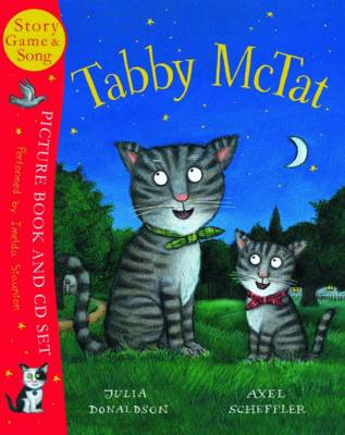 Tabby McTat Picturebook and CD by Julia Donaldson