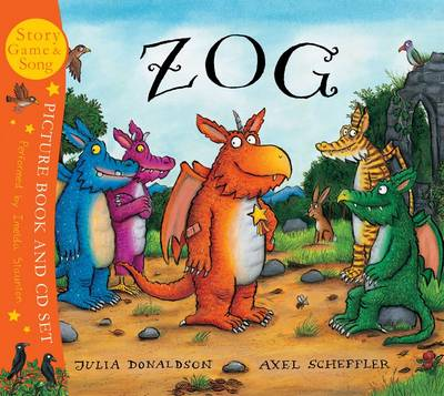 Zog (Paperback and CD-Audio) by Julia Donaldson