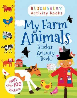 My Farm Animals Sticker Activity Book by