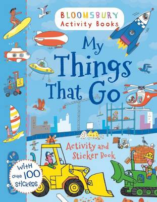 My Things That Go! Activity and Sticker Book by