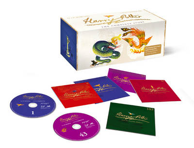 Harry Potter Audio Boxed Set Signature Edition read by Stephen Fry by J.K. Rowling