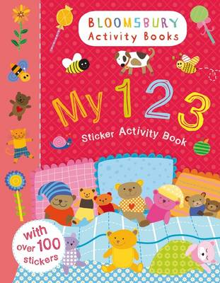 My 123 Sticker Activity Book by