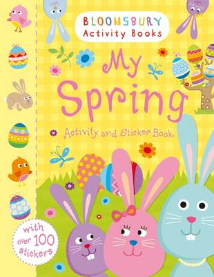 My Spring Activity and Sticker Book by