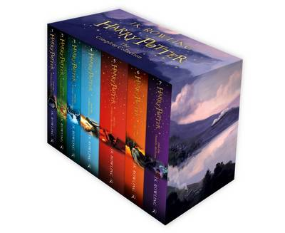 Harry Potter Boxed Set Signature Edition by J.K. Rowling