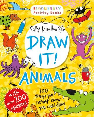 Draw it! Animals by Sally Kindberg
