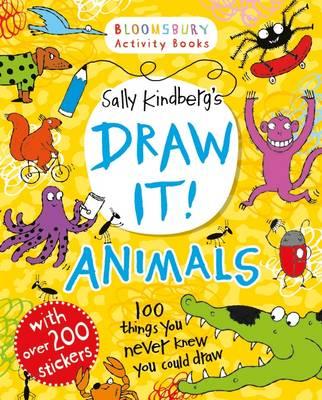 Draw it! Animals by Sally Kindberg