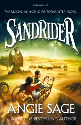 Sandrider A Todhunter Moon Adventure by Angie Sage