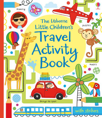 Little Children's Travel Activity Book by James Maclaine