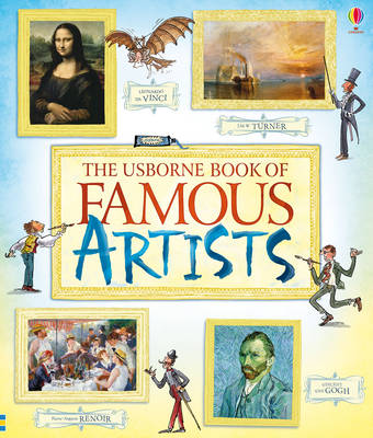 Book of Famous Artists by Rosie Dickins