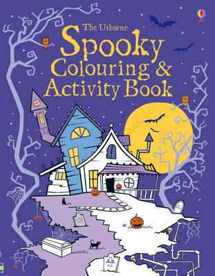 Spooky Colouring and Activity Book by Kirsteen Robson