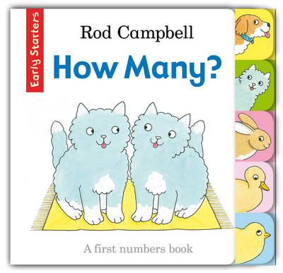 How Many? A First Numbers Book by Rod Campbell