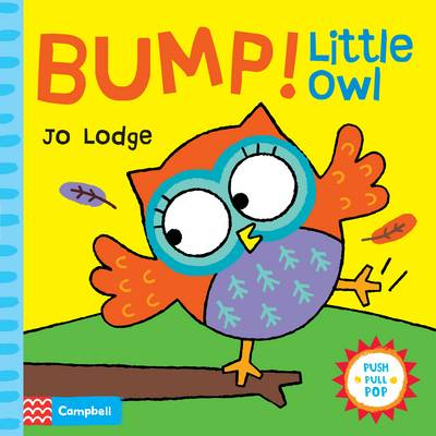 Bump! Little Owl An interactive story book by Jo Lodge