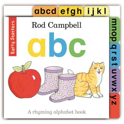 Early Starters: ABC by Rod Campbell