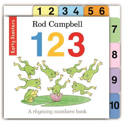 Early Starters: 123 by Rod Campbell