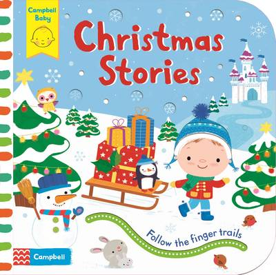 Christmas Stories Follow the Finger Trails by Luana Rinaldo