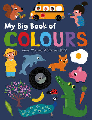 My Big Book of Colours by Fani Marceau