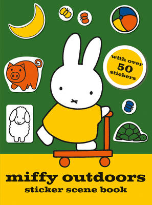Miffy Outdoors Sticker Scene Book by