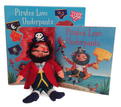 Pirates Love Underpants Book & Plush by Claire Freedman