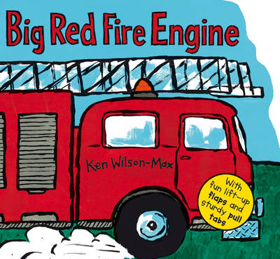 Big Red Fire Engine by Ken Wilson-Max
