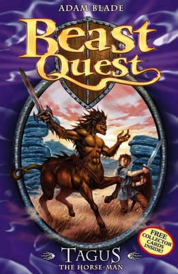 Tagus the Horse-man by Adam Blade
