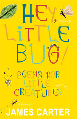 Hey Little Bug Poems for Little Creatures by James Carter