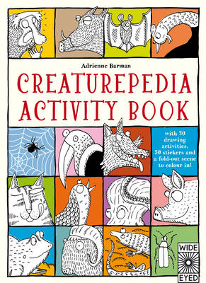 Creaturepedia Activity Book by Adrienne Barman