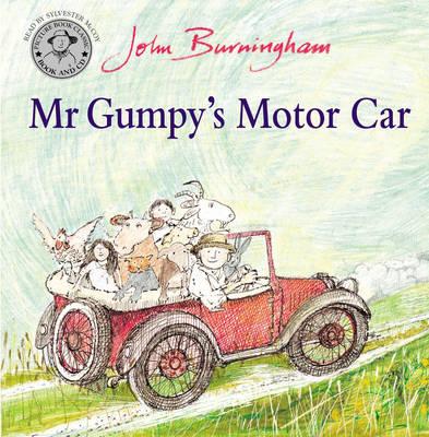Mr Gumpy's Motor Car Book and CD by John Burningham