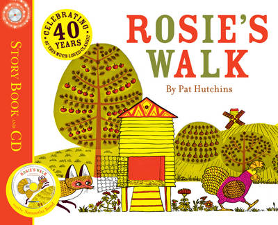 Rosie's Walk (book and audio CD) by Pat Hutchins