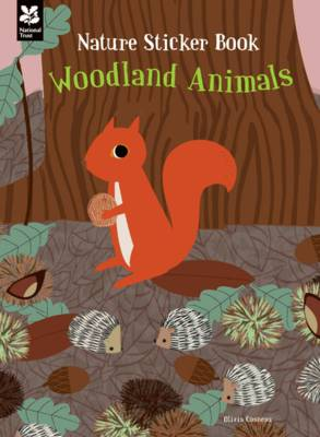My Nature Sticker Activity Book: Woodland Animals by